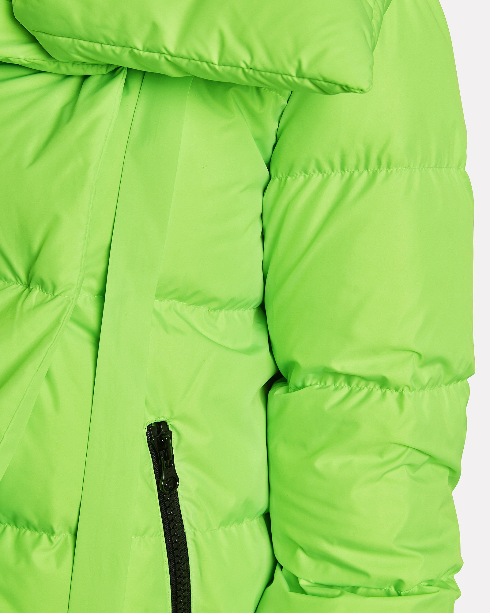 Puffa Quilted Puffer Jacket, NEON GREEN, hi-res