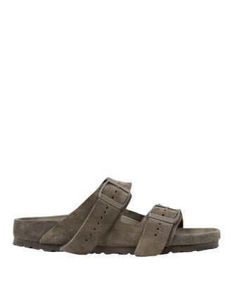 Arizona Double Buckle Sandals, GREY, hi-res