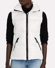 Freedom Down Puffer Vest, WHITE, hi-res