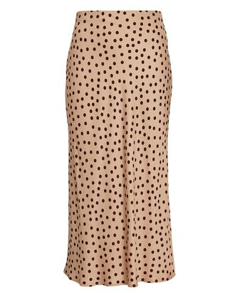 Perin Polka Dot Slip Skirt, MULTI, hi-res