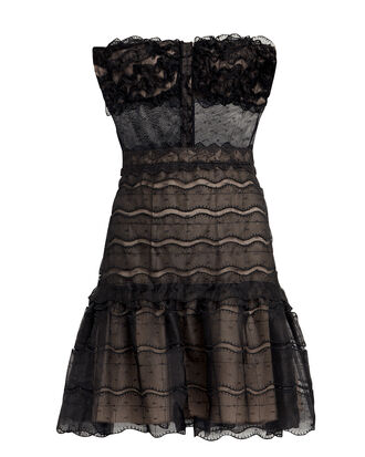 Adlai Bustier-Look Dress, BLACK, hi-res