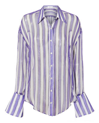 Jetset Striped Blouse, MULTI, hi-res