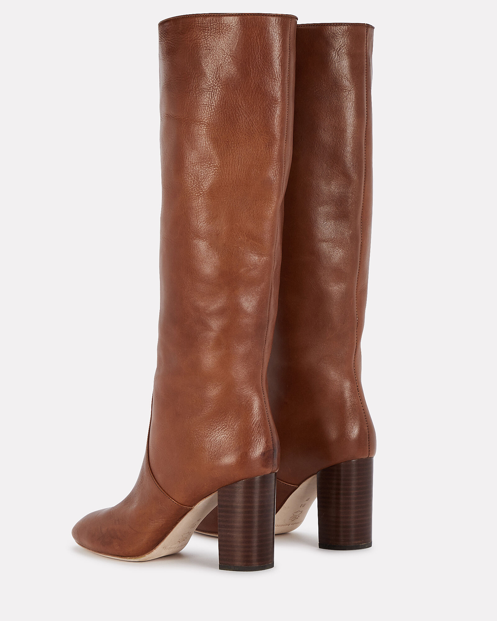 Goldy Knee-High Leather Boots, , hi-res