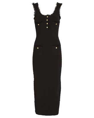 Nina Knit Bodycon Dress, BLACK, hi-res