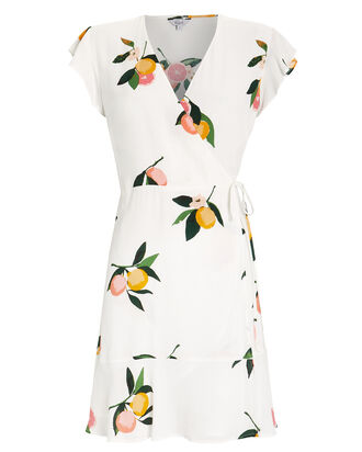 Leanne Wrap Dress, MULTI, hi-res