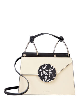 Phoebe Accordion Bag, BLACK/IVORY, hi-res