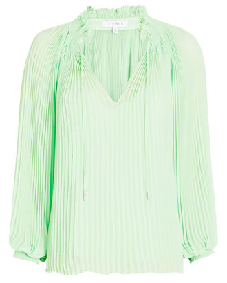 Paulette Pleated Chiffon Blouse, , hi-res