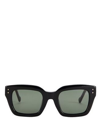 Skeptic Square Sunglasses, BLACK, hi-res