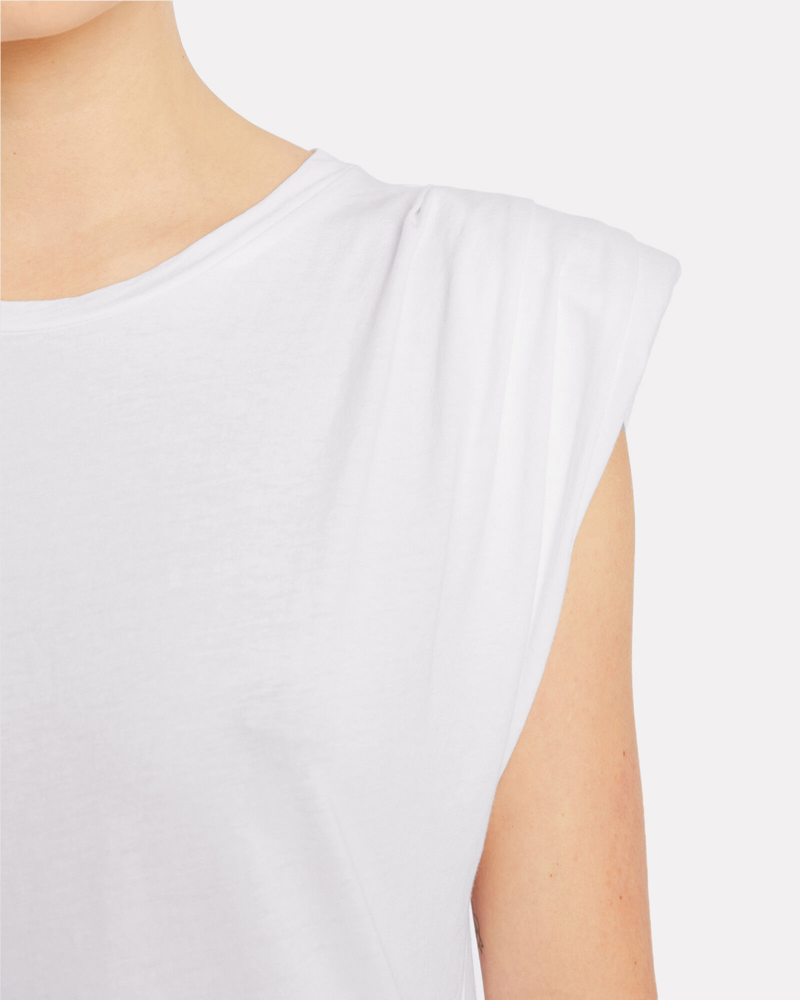 Echo Padded Shoulder Tank Top, , hi-res
