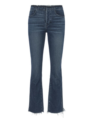 Raw Edge Shelter Slim Jeans, DENIM, hi-res
