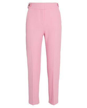 Gamilla Cigarette Trousers, PEONY, hi-res