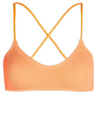 Selena Lace Back Bikini Top, ORANGE, hi-res
