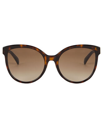 Havana Round Sunglasses, BROWN, hi-res