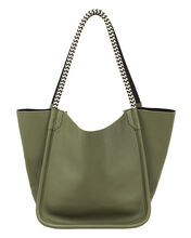 Super Lux Rope Handle Tote, OLIVE/ARMY, hi-res