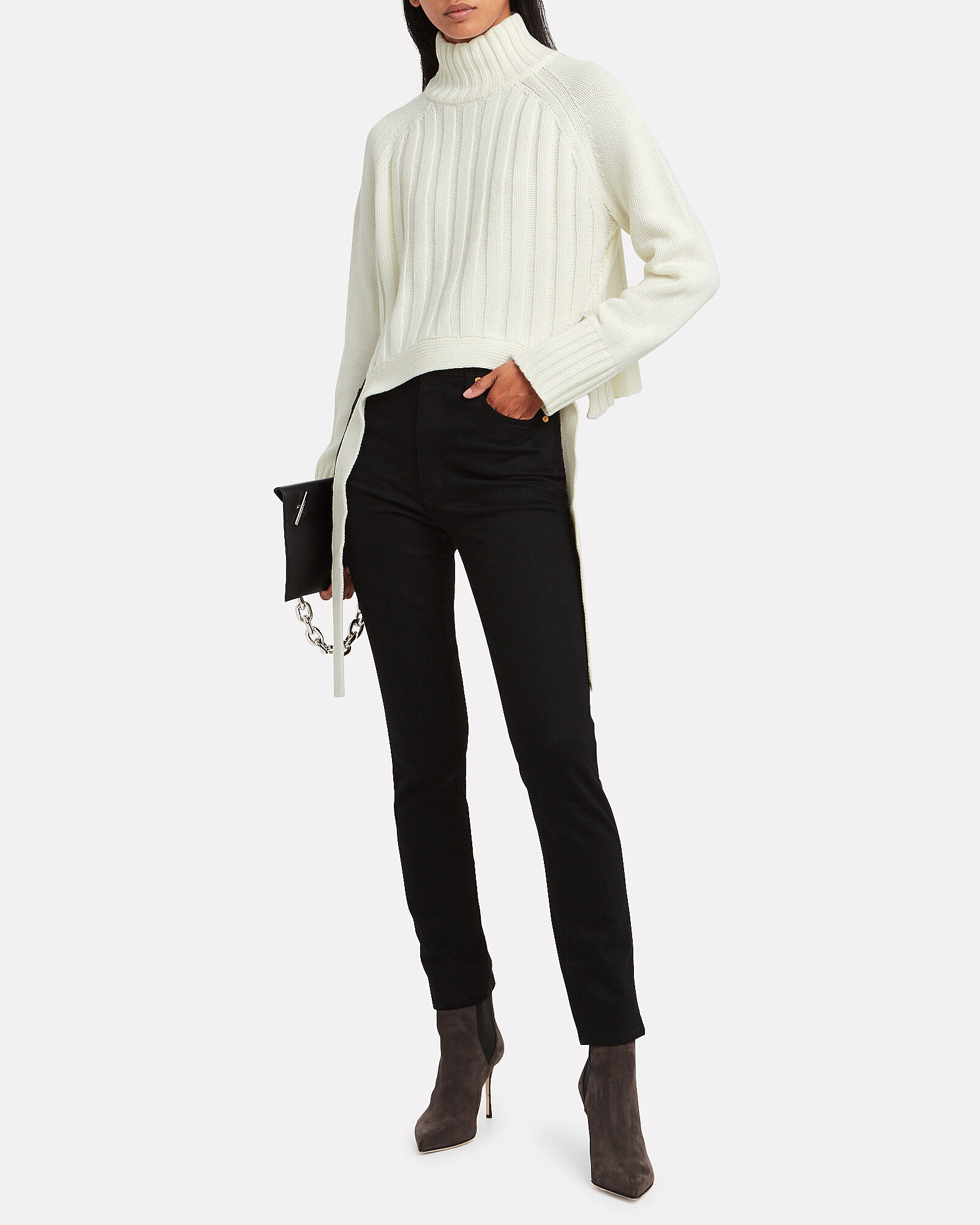 Wool-Cashmere Turtleneck Sweater, IVORY, hi-res