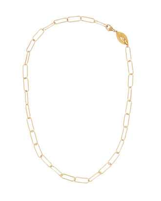 L'Incognito Choker Necklace, GOLD, hi-res