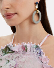 Sundown Circle Drop Earrings, MULTI, hi-res