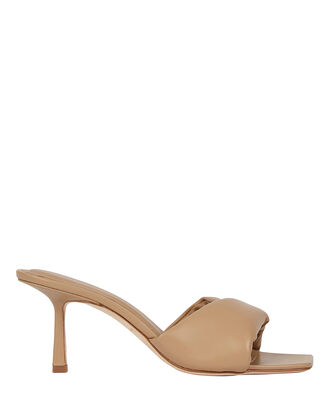 3.33 Leather Slide Sandals, BEIGE, hi-res