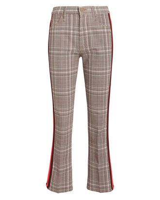 The Insider Plaid Ankle Jeans, PINK PLAID, hi-res