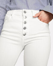 Debbie Cropped High-Rise Jeans, WHITE, hi-res