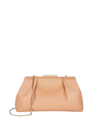 Florence Soft Leather Pouch, TOFFEE, hi-res