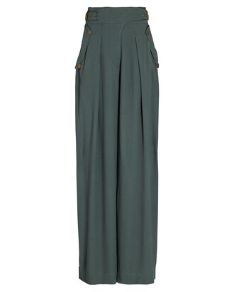 Felix Wide-Leg Trousers, GREY, hi-res