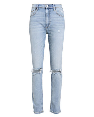 Zachary High-Rise Skinny Jeans, LIGHT WASH DENIM, hi-res