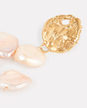 La Jetée Arranged Pearl Earrings, GOLD/PEARL, hi-res
