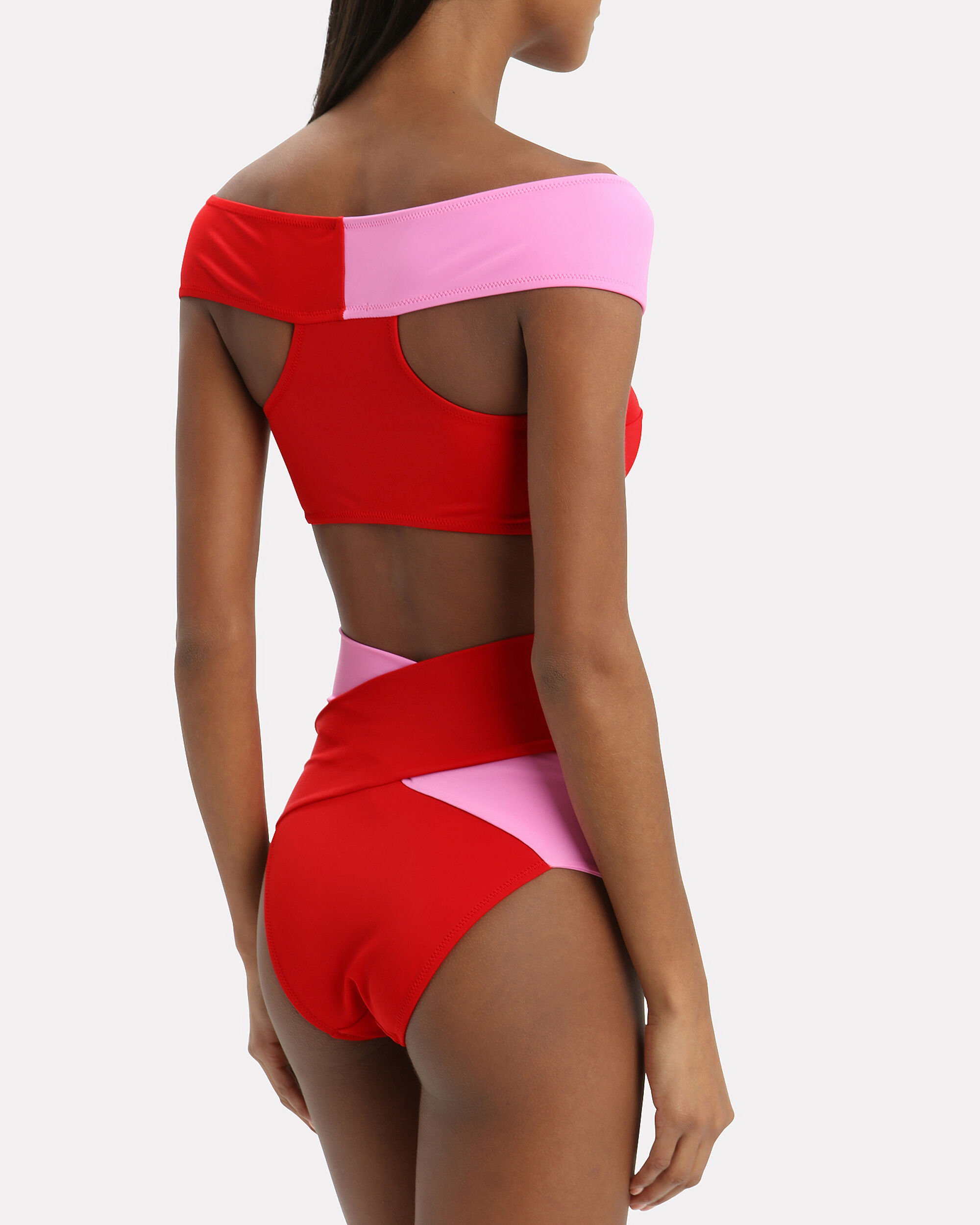 Lucette Bikini, RED/PINK, hi-res