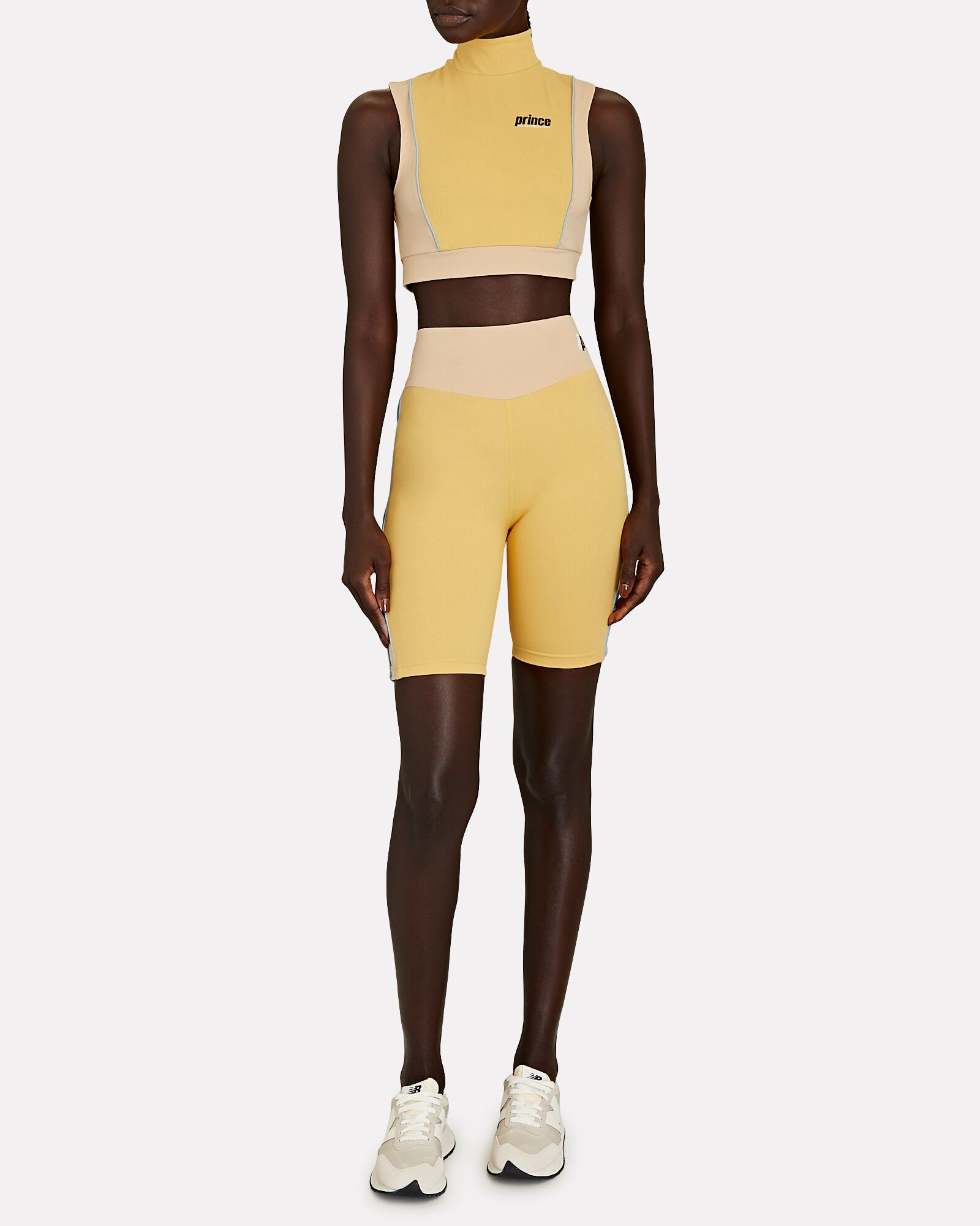 x Melissa Wood Health Cropped Tank Top, YELLOW, hi-res