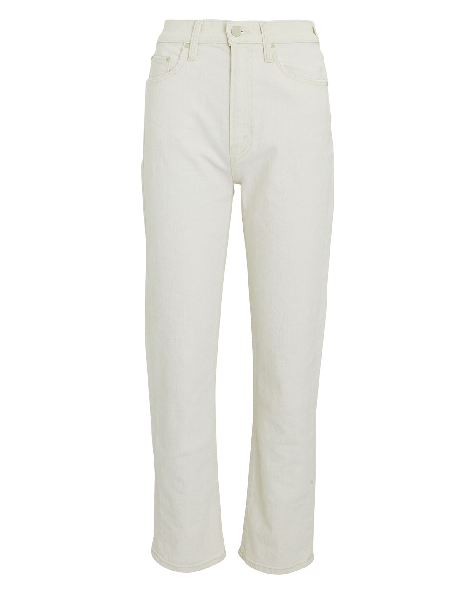 The High-Waisted Rider Ankle Jeans, IVORY, hi-res
