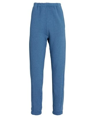 Crosby High-Rise Fleece Sweatpants, BLUE, hi-res