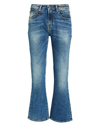 Kick Fit High-Rise Jeans, MEDIUM WASH DENIM, hi-res