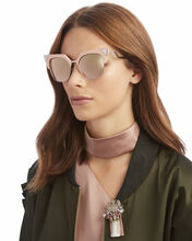 Pink Cat Eye Sunglasses, PINK, hi-res