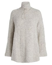 Barlind Oversized Turtleneck Sweater, BEIGE, hi-res