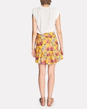 Hampton Floral Mini Wrap Skirt, MULTI, hi-res