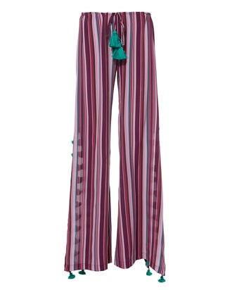 Ipanema Stripe Wide Leg Pants, MULTI, hi-res