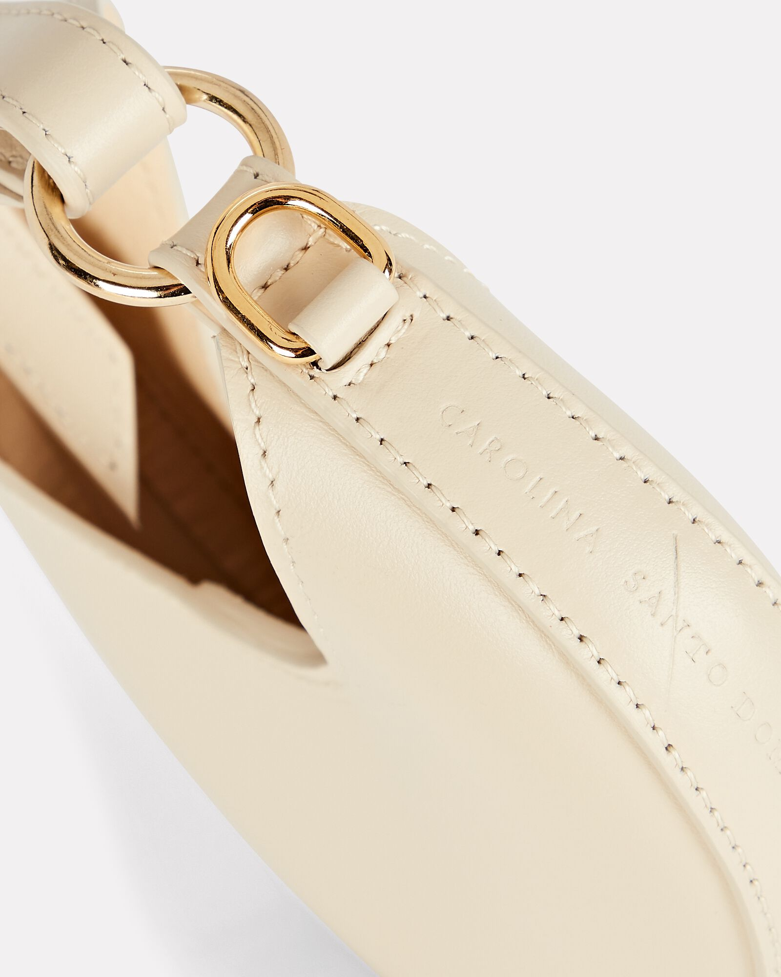Mini Ostra Leather Crossbody Bag, IVORY, hi-res