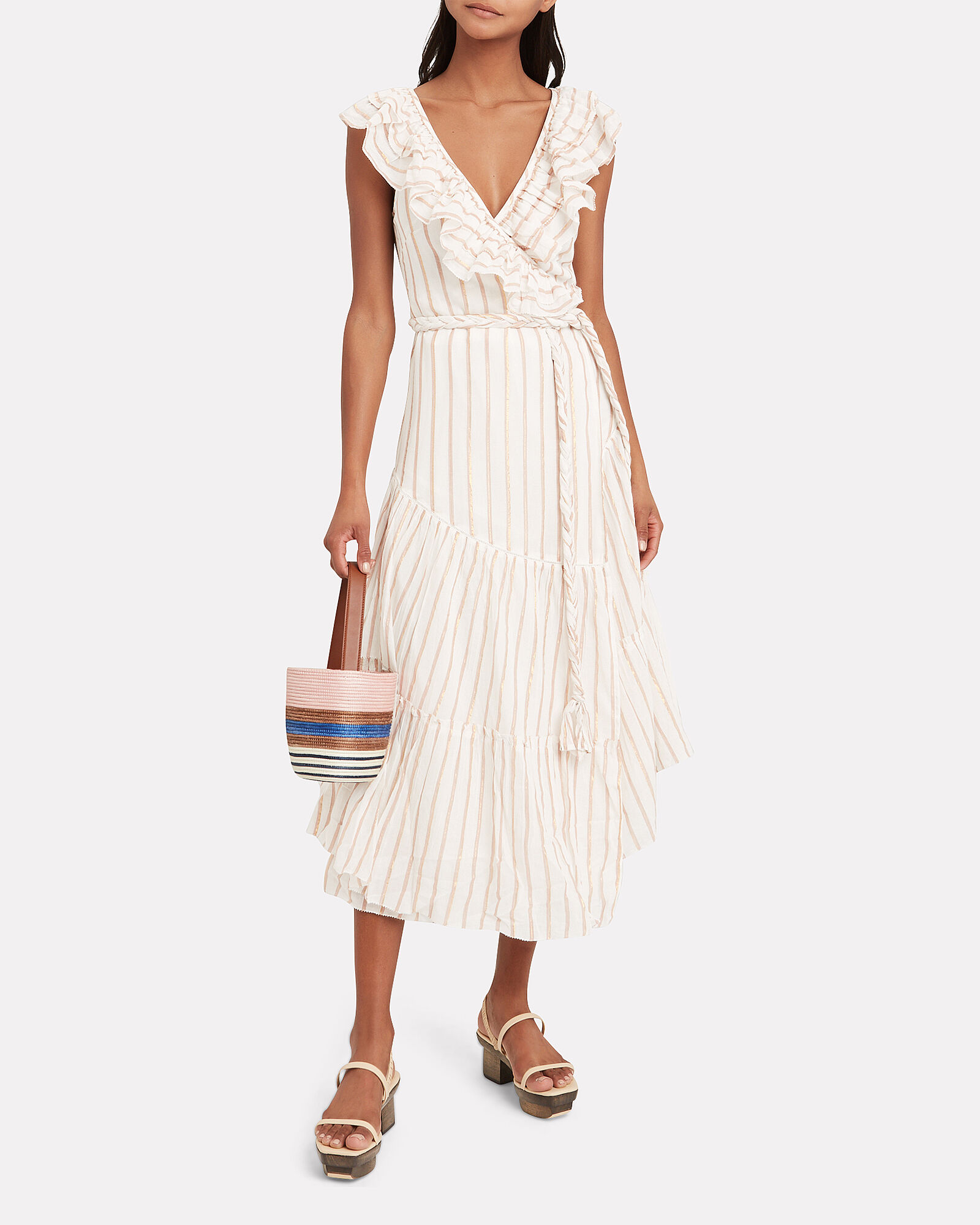 Nueva Costa Maxi Dress, IVORY, hi-res