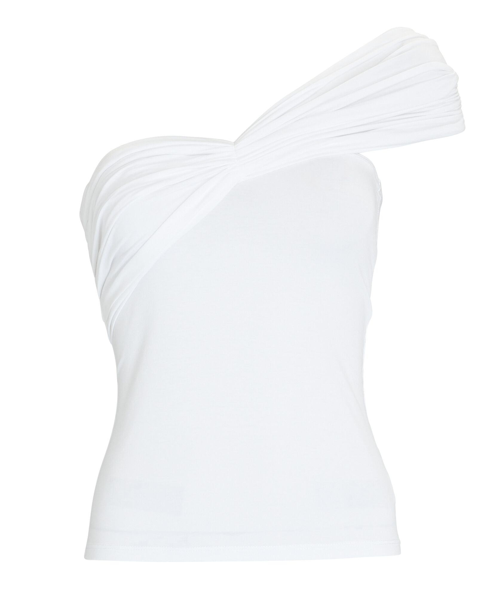 Kyo Twisted Tube Top, WHITE, hi-res