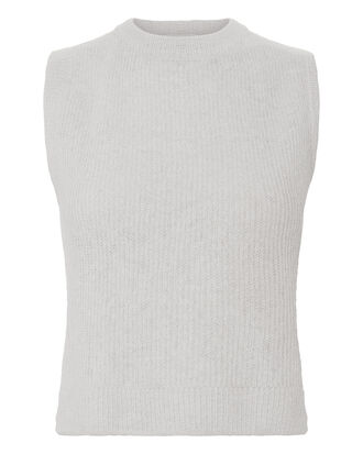 Alpaca Grey Tank, WHITE, hi-res