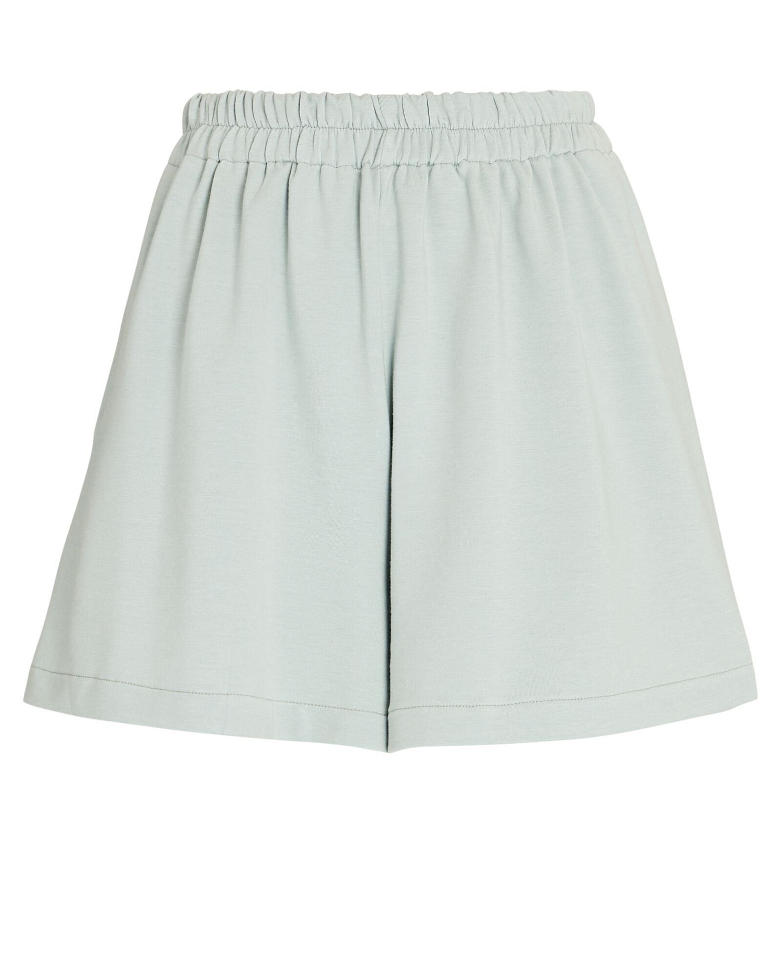 French Terry Sweat Shorts, GREEN-LT, hi-res
