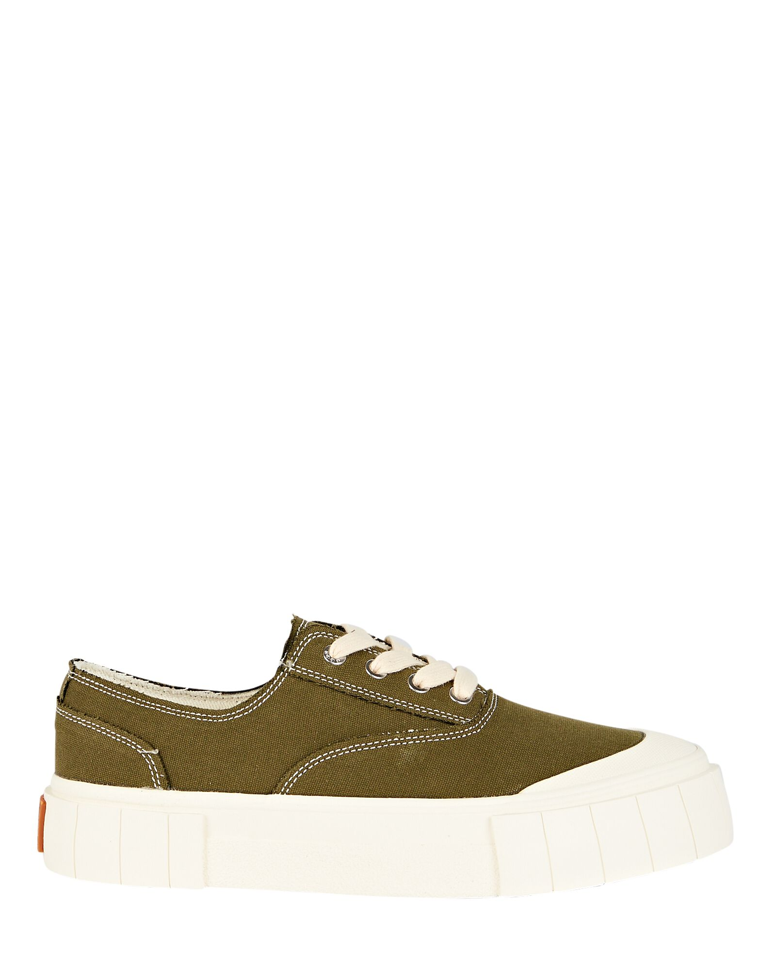 Opal Canvas Low-Top Sneakers, OLIVE, hi-res