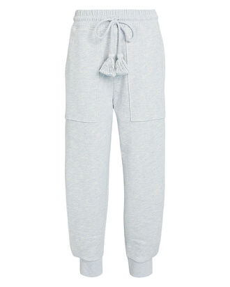 Nellie Mélange Sweatpants, PALE GREY, hi-res