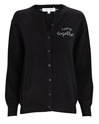 Come Together Cashmere Cardigan, BLACK, hi-res