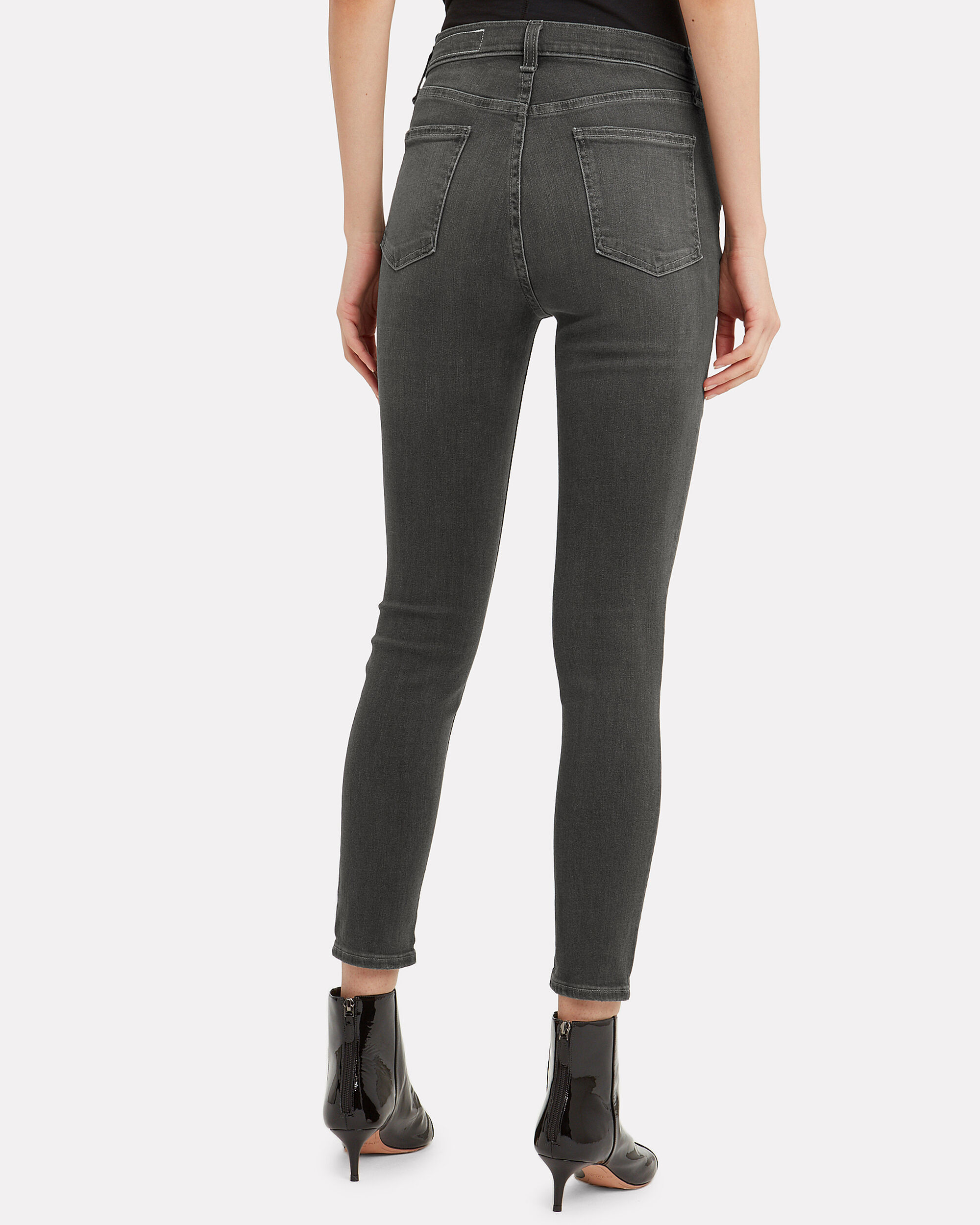 Baxter Coated Grey Jeans, GREY, hi-res
