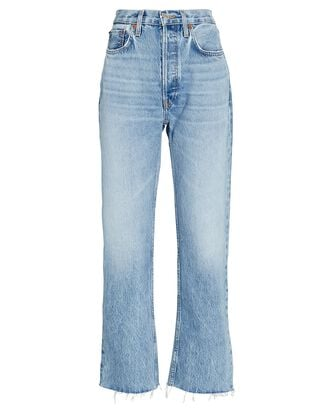 70s High-Rise Stove Pipe Jeans, MID 90S, hi-res