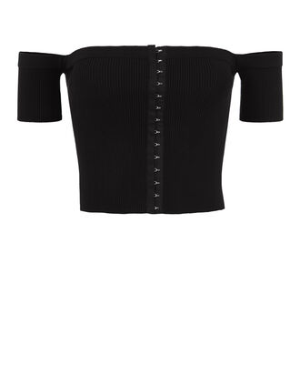 Deanna Knit Top, BLACK, hi-res