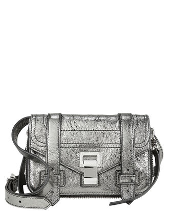 PS1 Mini Metallic Crossbody, SILVER/METALLIC, hi-res