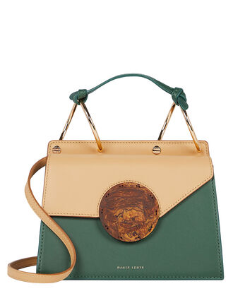 Phoebe Accordion Crossbody Bag, BEIGE/JADE, hi-res